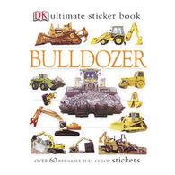 Bulldozer Ultimate Sticker Book by DK Publishing