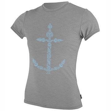 ONeill Girls 24-7 Hybrid Short-Sleeve Surf T-Shirt