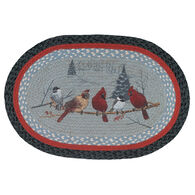 Capitol Earth Friends Gather Oval Patch Braided Rug