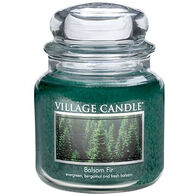 Village Candle Medium Glass Jar Candle - Balsam Fir