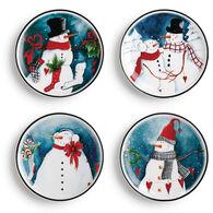 DEMDACO Snowman Plates