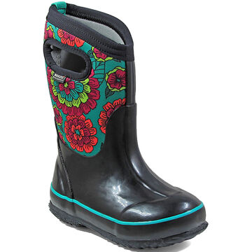 Bogs Girls' Classic Pansies Insulated Winter Boot