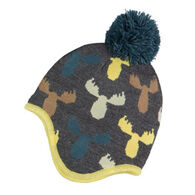 Broner Youth Moose Knit Pom Hat
