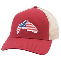 Simms Men's USA Patch Trucker Hat