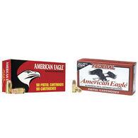 American Eagle 9mm Luger (9x19mm Parabellum) 115 Grain FMJ Handgun Ammo (50)