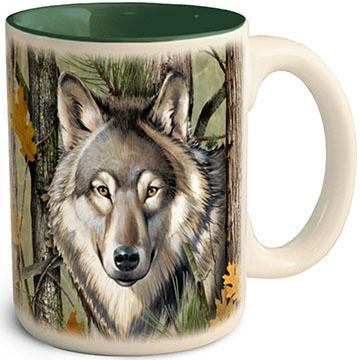 American Expedition Wolf Camo Mug