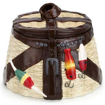 Big Sky Carvers Vintage Creel Cookie Jar