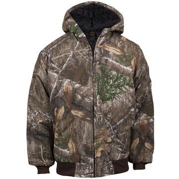 Kings Camo Boys Insulated Hooded Jacket