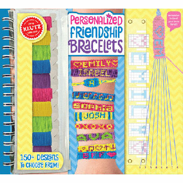 Klutz Personalized Friendship Bracelets Craft Kit by Klutz - Discontinued Model