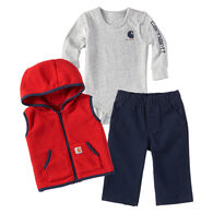 Carhartt Infant/Toddler Boys' Vest Gift Set
