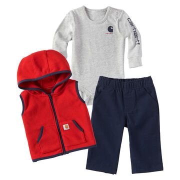 Carhartt Infant/Toddler Boys Vest Gift Set