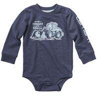 Carhartt Infant Boy's Rugged And Tough Long-Sleeve Bodyshirt
