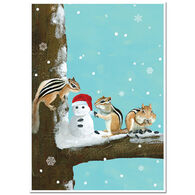 Allport Editions Three Chipmunks Boxed Holiday Cards