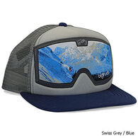 Bigtruck Men's Original Flat Goggle Swiss Trucker Hat