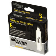 SIG Sauer 12g. CO2 Cylinder - 5 Pk.