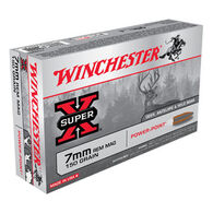 Winchester Super-X 7mm Remington Mag 150 Grain Power-Point Rifle Ammo (20)