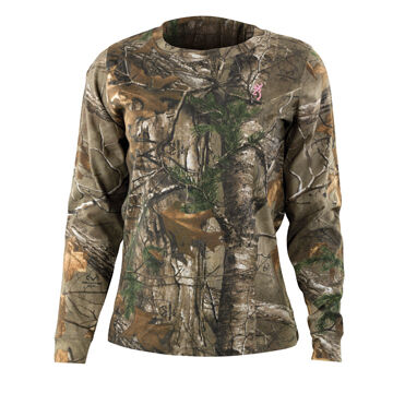Browning Womens Wasatch For Her Long-Sleeve T-Shirt