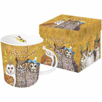 Paperproducts Design Owl Family Mug
