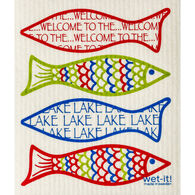 Wet-it! Swedish Cloth - Welcome to the Lake