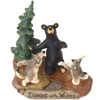 Big Sky Carvers Dances With Wolves Figurine