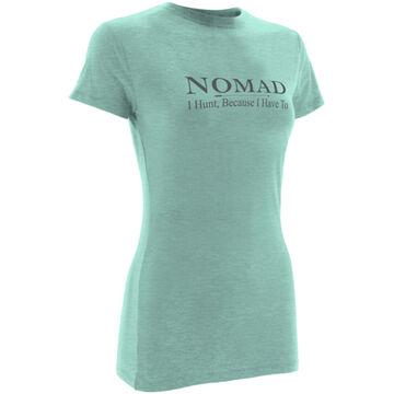 Nomad Womens Nomad Logo Short-Sleeve T-Shirt