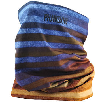 Phunkshun Wear Mens Stripes Double Layer Facemask