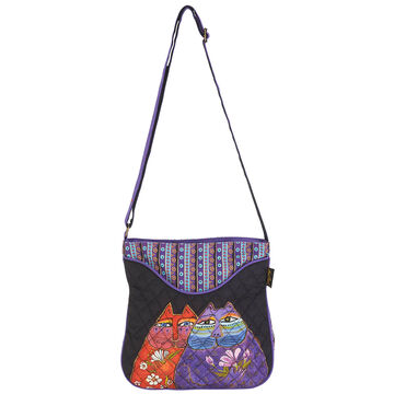 Sun N Sand Womens Two Wishes Laurel Birch Crossbody Handbag