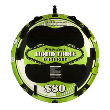 Liquid Force Let It Ride 80 Towable Tube - Discontinued Model