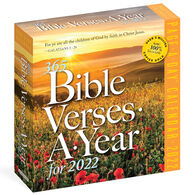 365 Bible Verses-A-Year 2022 Page-A-Day Calendar by Workman Publishing