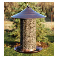 Audubon Brushed Copper Nyjer Bird Feeder