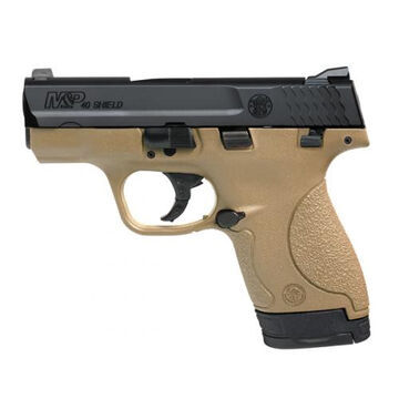 Smith & Wesson M&P40 Shield FDE Thumb Safety 40 S&W 3.1 6-Round Pistol