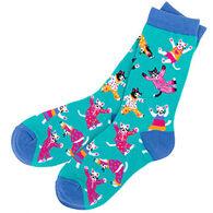 Hatley Women's Pajama Cats Sock