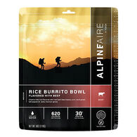 AlpineAire Rice Burrito Bowl Flavored w/ Beef Gluten Free Meal - 2 Servings