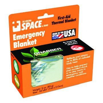 Grabber Space Brand Emergency Blanket