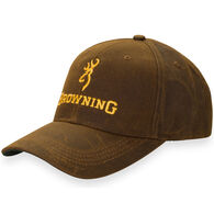 Browning Men's Dura Wax Logo Cap