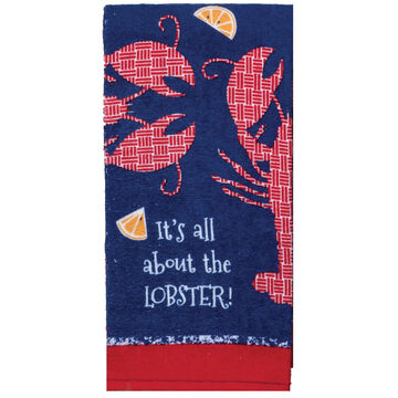 Kay Dee Designs Fresh Catch Lobster Terry Towel