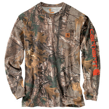 Carhartt Mens Big & Tall Workwear Graphic Camo Long-Sleeve T-Shirt