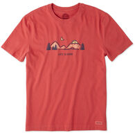 Life is Good Men's ATV Camp Vista Crusher Short-Sleeve T-Shirt