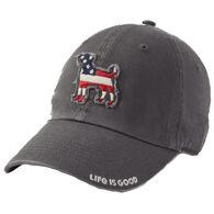 Life is Good Women's Americana Dog Chill Cap