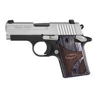 """SIG Sauer P938 Blackwood 9mm 3"""" 6-Round Pistol"""
