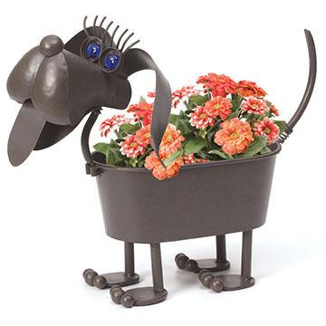 Georgetown Mini Gertrude The Weiner Dog Planter
