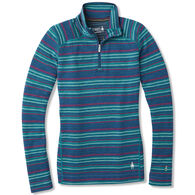 SmartWool Women's Merino 250 Pattern 1/4-Zip Baselayer Top
