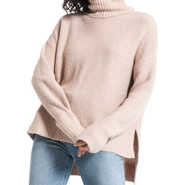 Z Supply Womens Rag Poets Andromeda Knit Turtleneck Sweater