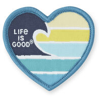 Life is Good Ocean Love Positive Patch
