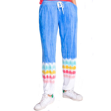 P.J. Salvage Womens Rainbow Sunsets Banded Jogger Pant