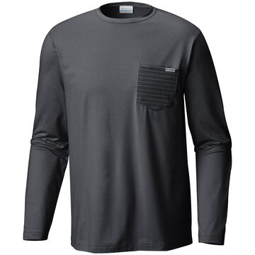 Columbia Mens PFG Slack Tide Pocket Long-Sleeve Shirt