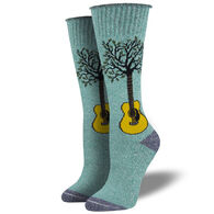 Socksmith Design Women's Recycled Cotton Neck Of The Woods Crew Sock