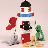 Unipak Designs Plush Lighthouse Set - 6 Piece