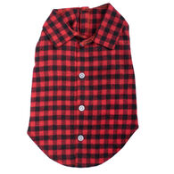 The Worthy Dog Buffalo Plaid Dog Shirt