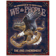 Desperate Enterprises We The People Tin Sign